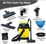 Inalsa Vacuum Cleaner Wet and Dry Micro WD10-1000W with 3in1 Multifunction