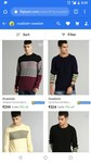 ROADSTER sweater starting @ 299 RS up to 78% off