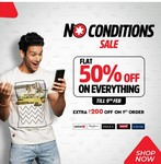 BrandFactory : No Conditions Sale : Flat 50% off