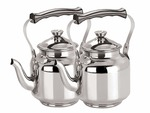Kuber Industries Stainless Steel Hot Water/Tea Kettles(Tea0107_Silver_Pack of 2) Rs. 999 - Amazon