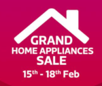 Flipkart Grand Home Appliances Sale - 10% off BOB credit card (15th - 21st Feb)