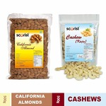 Dry Fruit Combo (Cashew 500g + Almonds 500g) @ Rs 719 |Code: OFFER20
