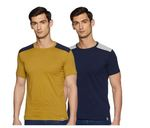 Symbols Cottons Mens T-Shirts (Pack of 2) for Rs.239