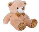 Ultra 2 Feet Fluffy Polka Teddy Bear Soft Toys, Camel Brown @308
