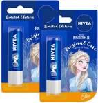 Nivea Lip Balm, Disney Limited Edition Original Care, 4.8g (Pack of 2) Original  (Pack of: 2, 9.6 g)