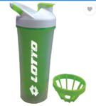 Lotto Shaker Dane 450 ml Sipper (Pack of 1, Green)
