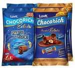 LuvIt Chocorich Assorted Eclairs Chocolate Party Gift Combo - Hazelnut, Dark Choco & Classic & Chocorich Chocolate Eclairs - Pack of 4