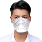 Magnum Flat Fold Respirator With Certification Mask pack of 2