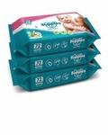 (Pantry) Supples Baby Wet Wipes with Aloe Vera and Vitamin E, 72 Wipes/Pack, (Pack of 3)
