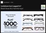 Get 1000 off on 2000/- on all glasses on Lenskart