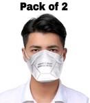 Pack of 2 Certified NIOSH N95 Mask Respirator