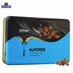 Sapphire Chocolate Coated Nuts, Almonds, 175g