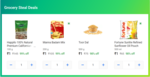 Grocery Steal Deals - 4 Items For Rs.4 (Badam Mix + Toor Dar + Almonds  + Oil )