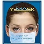 YMASK (Blue) Adult 3 Ply Face Mask for Air borne diseases and allergy Protection - A Pack of 100 - Available in Blue