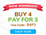 Mamaearth -  WOW Wednesday Offer : Buy 4 Pay For 3