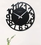 Exciting Deals!! Get Flat 50% OFF on Black MDF Wall Clock at Pepperfry