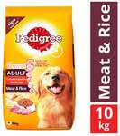 Pedigree Adult Dog Food Meat And Rice 10 kg