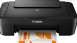 Which type of Printer can be selected for occasional use?