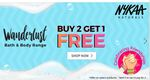 Buy 2 Get 1 Free On Nykaa Products