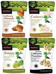 Nutraj Daily Needs Dry Fruits Combo Pack 1 Kg (Almonds 250g, Cashews 250gm, Pistachios 250g, Raisins 250g)