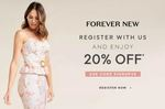FOREVER NEW - Sign Up & Get Flat 20% OFF