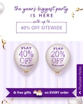 [Last Day] Plum Goodness Birthday Sale- Upto 40% off Sitewide + Extra 5% off on prepaid Orders