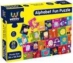 Webby Giant Alphabet Fun Floor Puzzle