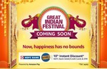 Amazon Great Indian Festival Sale save up to 90% off start on 21th - 25th oct