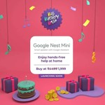 Get Google Nest Mini at Rs 1999- TimesPrime Exclusive