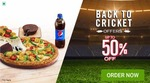 Get 50% off upto 100₹ on Domino's Pizza Order