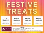 Mark&Spencer Festive Treat Offer + Additional 10% Using Axis Bank Cards