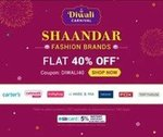Firstcry: Shandaar    Flat 40% OFF on Select Top Fashion Brands + 5% Instant discount with SBI Card