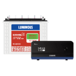 Luminous 900VA Zolt 1100 Inverter And RC 18000 150 Ah Tubular Battery