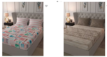 Prebook - Flat 70% off on Trident Bedsheets (New Stock) Starting at Rs.374