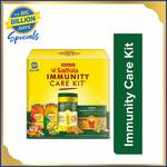 Saffola Immunity Care Kit Combo  (Kadha Mix pack of 2 - 80g each, Infused Honey pack of 2 - 250g each, Turmeric Milk mix 1 - 400g)
