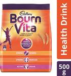 Cadbury Bournvita Health Drink Nutrition Drink  (500 g, Chocolate Flavored)