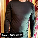 Men Full sleeves T-shirt solid color Regular fit