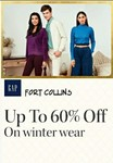 Min 60% off on winter wear [brand like- RED TAP, GAP, HERE & NOW, & more]