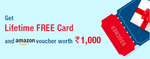 HDFC: get LTF CC and 1000 amazon voucher