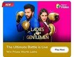 Flipkart Ladies Vs Gentlemen episode 1 Let The Battle Begin- win GVs and SCs
