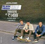Jack Jones Friday Flash Sale- Trousers @1499