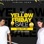 Bewakoof  - The Yellow Friday Sale Upto 70% off | 27th - 30th Nov