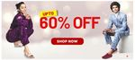 Get Up to 60% Off + Extra 5% Off on Prepaid Orders