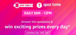 Amazon Quiz Answers for 28th Nov'20 – Win 10k Amazon Pay Balance : 2 Winner