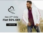 Being Human Clothing Flat 50% Off [27 December] Only
