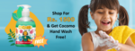 Spend Rs. 1500 or more to get a free Hand Wash + Extra 10% OFF on orders above Rs 999