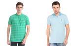 Ajio Men's Clothing Minimum 70% off from Rs. 125