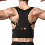 Copper Compresion Back Bracess For Unisex (Free Size)
