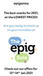 Epigamia | THE EPIG SALE | UPTO 50% OFF | 12-14 JAN