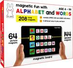 Upcoming | 19th - 23rd Jan | Play Poco Magnetic Fun with Alphabet and Words - with 64 Picture Magnets, 144 Letter Magnets, Magnetic Board and Spelling Guide